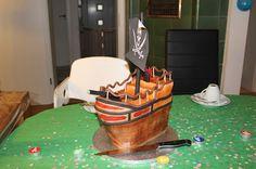 Theresas Backstube: Piratenschiff