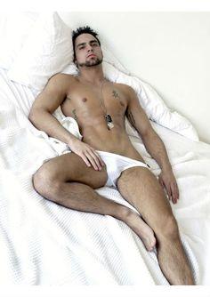 lean Nude man fit