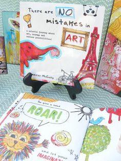 Book  There are No Mistakes in Art  by Jennifer by jmdesign