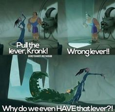 15 The Emperors New Groove Memes Disney Movies. Find More… READ 20 Funny Disney Memes Childhood Ruined Mind Blown Emperor's New Groove, Funny Disney Memes, Disney Jokes, Funny Cartoons, Hilarious Memes, Funny Humor, Nicholas Sparks, Pixar, Funny Scenes