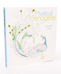 Look what I found on #zulily! Mystical Menagerie Coloring Book #zulilyfinds