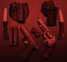 The four looked in front of them to see a table with a variety of guns and knives, a mobile and a laptop on top of it. As Stephanie moved forward to pick up a gun from the table however Maxx's arm stopped her. She turned to look at the boy with a confused glare, he simply put a finger to his lips to tell her to be quiet, before putting the same finger to his ear, telling her to listen. All of them remained quiet, they could all clearly heard footsteps approaching (Chapter 4)
