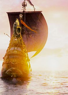The finest ship in Narnia Star Trek Voyager, Aslan Narnia, Cair Paravel, Narnia Movies, Science Fiction, Lucy Pevensie, Prince Caspian, Mystery, Cs Lewis