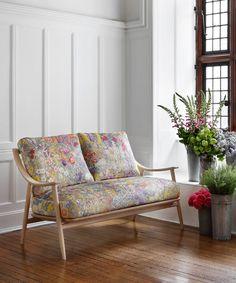 Liberty Art Fabrics Gail's Garden Vintage Velvet in Dusk