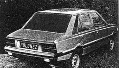 FSO Polonez retusz wersji 5-cio  drzwiowej
