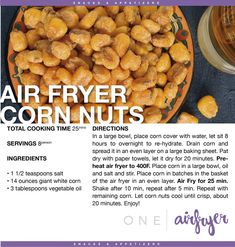 No Cook Appetizers, Recipes Appetizers And Snacks, Yummy Snacks, Healthy Snacks, Snack Recipes, Yummy Food, Air Fryer Oven Recipes, Air Fry Recipes, Nut Recipes