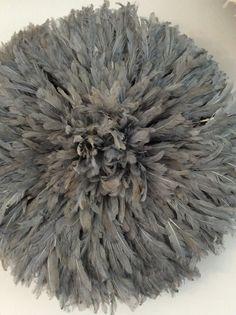 Grey medium size juju hat 65cm par Emwegcreations sur Etsy