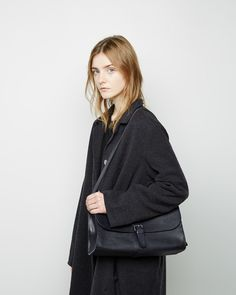 ISAAC REINA   Buckle Shoulder Bag   La Garçonne