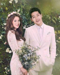 Song Hye-kyo and Song Joong-ki Korean Celebrities, Korean Actors, Celebs, My Love Song, Love Movie, Wedding Couples, Cute Couples, Descendants, Song Joong Ki Cute