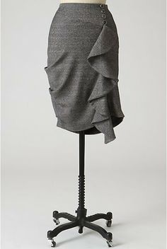 Anthro inspired ruffle skirt tutorial