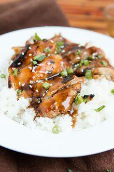 Easy Teriyaki Chicken FoodBlogs.com