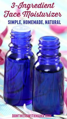 DIY Facial Oil Moisturizer - This homemade face moisturizer is a game-changer! It's so easy to make and great to help fight the signs of aging - DontMesswithMama.com