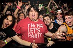 Fancy - I'm Fat Let's Party T-Shirt