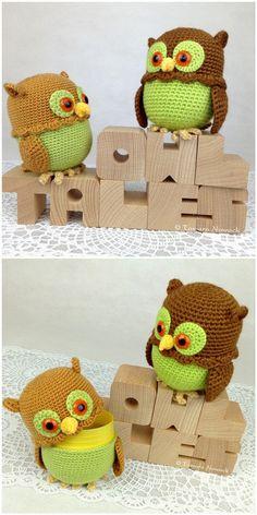 Minischatullen Eulen - ein Designerstück bei DaWanda