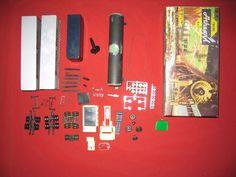 HO / Slot Junkyard - Anthearn 5160 Piggy-Back Van Parts - Dump Truck and misc. Hobby Kits, Dump Truck, Ho Scale, Slot, Van, Trucks, Truck, Vans, Vans Outfit