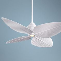"52"" Minka Aire Gauguin™ Flat White Outdoor Ceiling Fan  Style # 89556  $389.00"