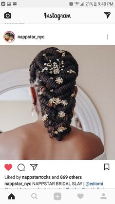 Instead of the accessories have a pretty sage and jewel head adornment