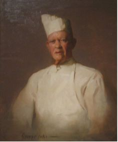 George Benjamin Luks - 'The Chef at Luchow's American Art, Fine Art, Art For Art Sake, Charles Demuth, Paintings I Love, Ashcan School, Art, Art Movement, American Painting