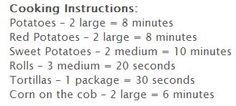 Time/Instructions
