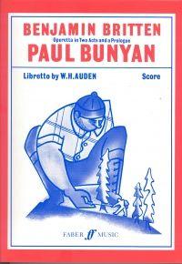 Britten: Paul Bunyan - Full Score. £79.99