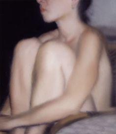 Gerhard Richter里斯特的肖像畫以模糊的方式表現。