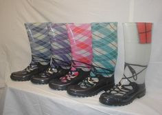 Highland dance wellies - so cute!