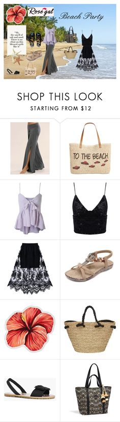 """""""Beach Party"""" by snowflakes214247 ❤ liked on Polyvore featuring Style & Co., LaMont, Sun N' Sand, Boohoo, Henri Bendel and Peach Couture"""