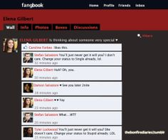 #FANBOOK #VAMPIRE DIARIES # AWESOME # FUNNY :)