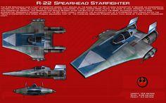 R-22+Spearhead+starfighter+ortho+[New]+by+unusualsuspex.deviantart.com+on+@DeviantArt