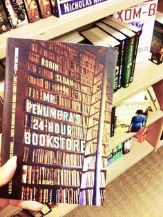 Mr. Penumbra's 24-Hour Bookstore #books #shelfie #bibliophile #bookish #robinsloan