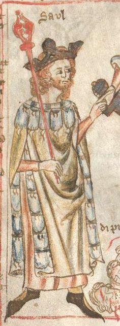 Armenbibel in 41 Darstellungen ungefähr zwischen 1360 und 1375 Cgm 20 Folio 4v