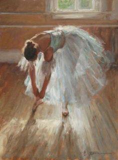 Available Paintings by artist Trent Gudmundsen Morning Light Ballerina Painting, Ballerina Art, Ballet Art, Painting Inspiration, Art Inspo, Dance Paintings, Degas Paintings, Arte Obscura, Classical Art