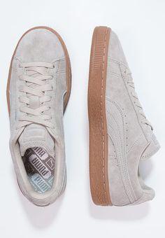Basket Platform Perf Gum, Sneakers Basses Femme, Blanc White-Black-Gold, 40 EUPuma