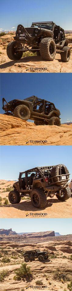 Starwood Motors Custom Jeep In Action!  #starwoodmotors #Jeep #JeepWrangler #CustomJeep #JeepMods #JeepLife #Offroad #oIIIIIIIo