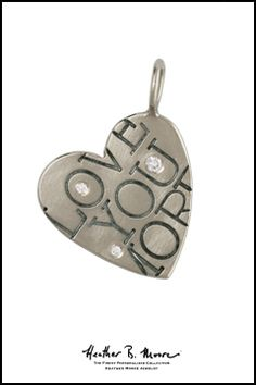 Heather B. Moore 14k Gold Heart Charm, $1,310.00