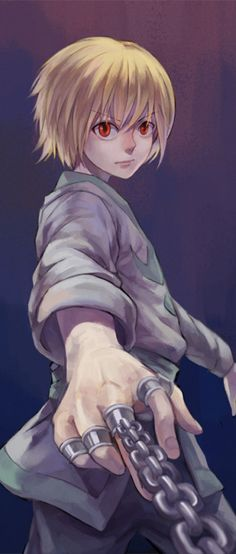 Kurapika's storyline, based on fury and hatred, is my favorite in the show.