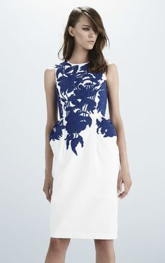 Scanlan Theodore Spring 2014- Beaded Brocade Dress