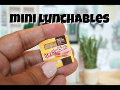 How to make Miniature Lunchables This is a classic Binkybee craft! Hope you enjoy watching how to make miniature Lunchables! American Girl Doll Room, American Girl Crafts, American Girl Doll Things, American Girl Dollhouse, American Dolls, Ag Dolls, Girl Dolls, Ag Doll Crafts, Minis