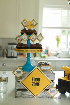 Construction Birthday Party Ideas | Photo 2 of 48 | Catch My Party