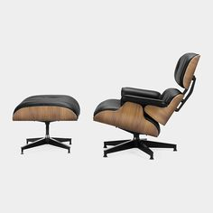 Eames® Lounge Chair And Ottoman  Charles & Ray Eames, 1956  $4,960