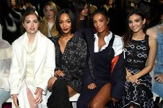 Kate Upton Jourdan Dunn Maya Jama and Victoria Justice attends 'Maybelline New York hosts Kate Upton Jourdan Dunn Maya Jama and Victoria Justice...