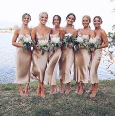 Silk bridesmaid dresses - Champagne silk bias slip dress Gold beige silk slip bridesmaids dress Silk clothing Sheryl slip dress Romantic date dress – Silk bridesmaid dresses Slip Bridesmaids Dresses, Wedding Bridesmaids, Champagne Bridesmaid Dresses, Bridesmaid Outfit, Stone Bridesmaid Dress, 3 Bridesmaids Pictures, Simple Bridesmaid Bouquets, Metallic Bridesmaid Dresses, Black Bridesmaids