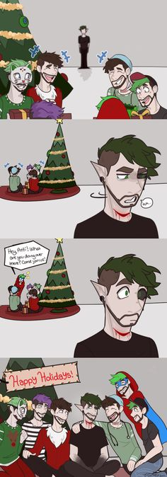 tis the season to forgive and forget even though he terrorized most of them happy holidays everyone! hope you all have a wonderful day surrounded by good friends and family! @therealjacksepticeye