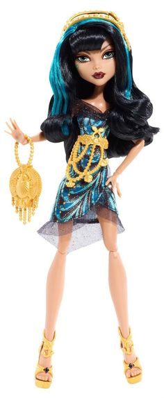 Monster High Frights, Camera, Action! Black Carpet Cleo de Nile Doll
