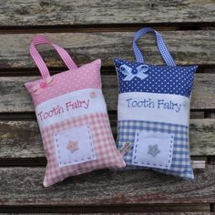 Tooth Fairy Pillows £10.00
