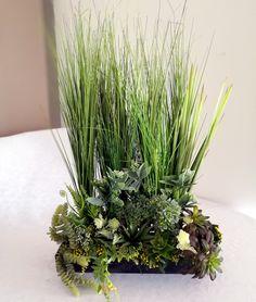 Dekoracja  trawy i sukulenty 2 nr. 168 Plants, Atelier, Plant, Planets