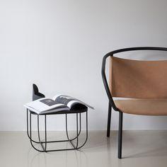 Menu Cage pöytä, musta/tumma saarni | Pöydät | Huonekalut | Finnish Design Shop