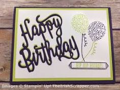 Image result for happy birthday gorgeous stampin up