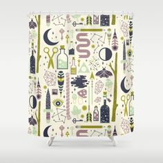 The Witch's Collection Shower Curtain
