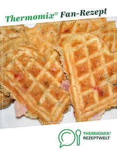 Pizzawaffeln Pizza waffles by A Thermomix ® recipe from the baking category is hearty at www.de, the Thermomix ® community. Mexican Dessert Recipes, Healthy Dessert Recipes, Easy Desserts, Breakfast Recipes, Sausage Recipes, Egg Recipes, Pizza Recipes, Cheesecake Recipes, Banana Cheesecake